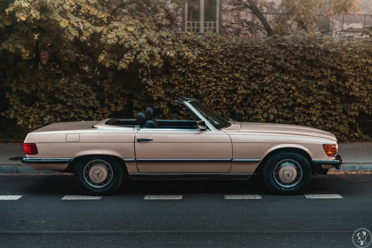 Samochód do ślubu vintage retro Mercedes-Benz kabrio prowadzisz sam, Kraków - zdjęcie 1