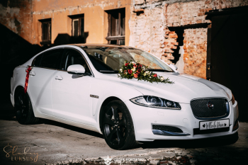 Samochód do ślubu -piękny i elegancki JAGUAR XF - ŚLUBNY LUKSUS, Samochód, auto do ślubu, limuzyna Koniecpol
