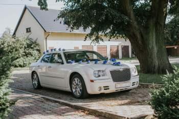 Chrysler 300C piękna amerykańska limuzyna, Samochód, auto do ślubu, limuzyna Grudziądz