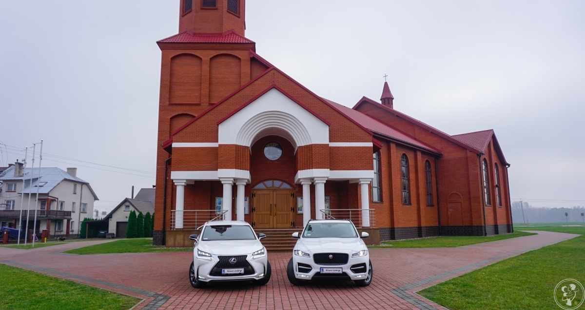 Auto do ślubu, na wesele-Lexus NX 200T & Jaguar F-Pace & BMW X4 xDrive, Wysokie Mazowieckie - zdjęcie 1