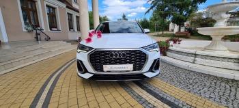 Auto do ślubu - Najnowsze Audi Q3 Sportback S-line - rocznik 2020 !, Samochód, auto do ślubu, limuzyna Skaryszew