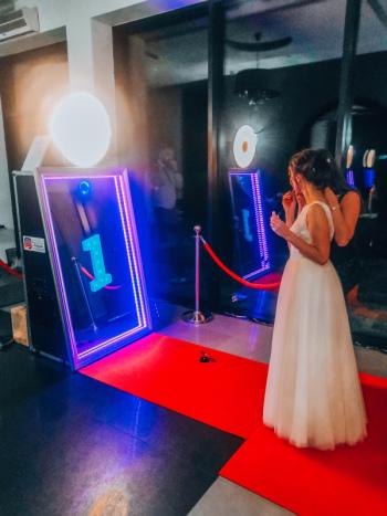 Fotolustro VIP-Luxury Mirror 65' cali / Bo stać Cię na LUKSUS ! 👌, Fotobudka, videobudka na wesele Uniejów