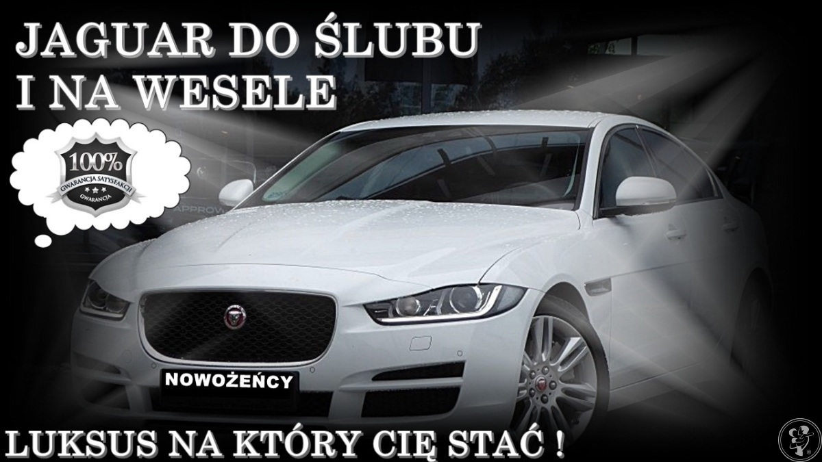 Ekskluzywna Limuzyna do Ślubu i na Wesele - JAGUAR XE 200 KM !, Sosnowiec - zdjęcie 1