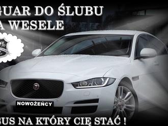 Ekskluzywna Limuzyna do Ślubu i na Wesele - JAGUAR XE 200 KM !,  Sosnowiec