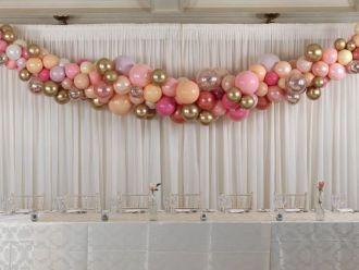 Elegancka i szykowna dekoracja balonami - dekoracja balonowa, balony,  Katowice