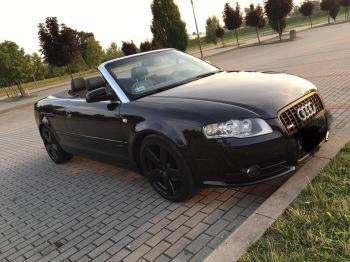 Audi A4 Cabrio, Samochód, auto do ślubu, limuzyna Kluczbork