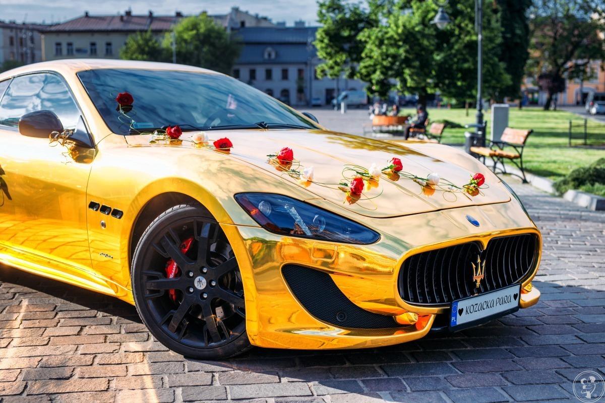 Złote Maserati GT S - Jedyny taki kozacki samochód do ślubu!, Kraków - zdjęcie 1