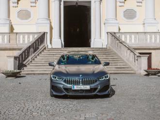 Auto do ślubu   BMW SERII 8 Gran Coupe   Porsche Panamera GTS,  Gostyń