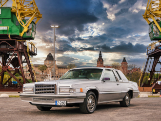 1980 Ford Thunderbird Silver Anniversary Edition 5.0 V8 - Auto na ślub,  Szczecin