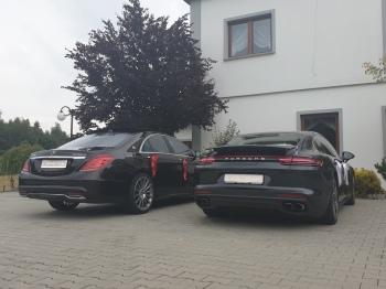 Wynajem Limuzyn: Mercedes S-class, Porsche Panamera Auto na wesele, Samochód, auto do ślubu, limuzyna Radlin
