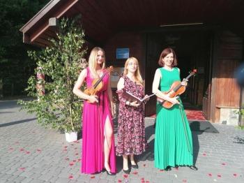Wokal+skrzypce+altówka-ViOlarte na Twoim ślubie i weselu!, Oprawa muzyczna ślubu Suwałki
