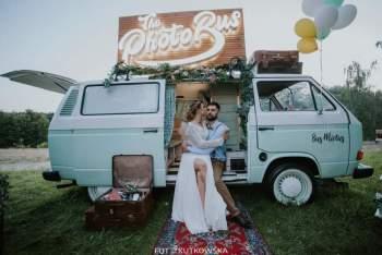 Fotobus Bus Miętus retro, boho,rustik style... Jedyny taki w Polsce, Fotobudka, videobudka na wesele Żory