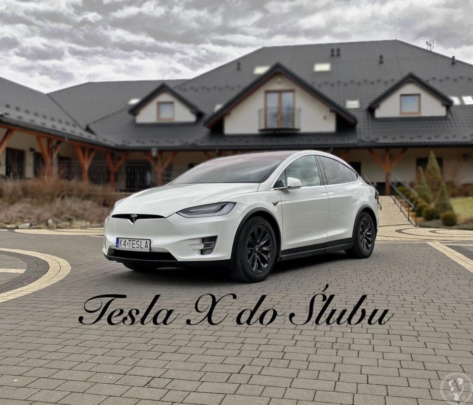 Tesla X do Ślubu, Kraków - zdjęcie 1