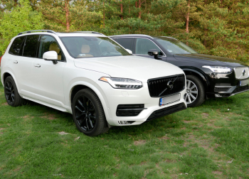 VOLVO XC90 w kolorze białym i czarnym, Samochód, auto do ślubu, limuzyna Dąbrowa Białostocka