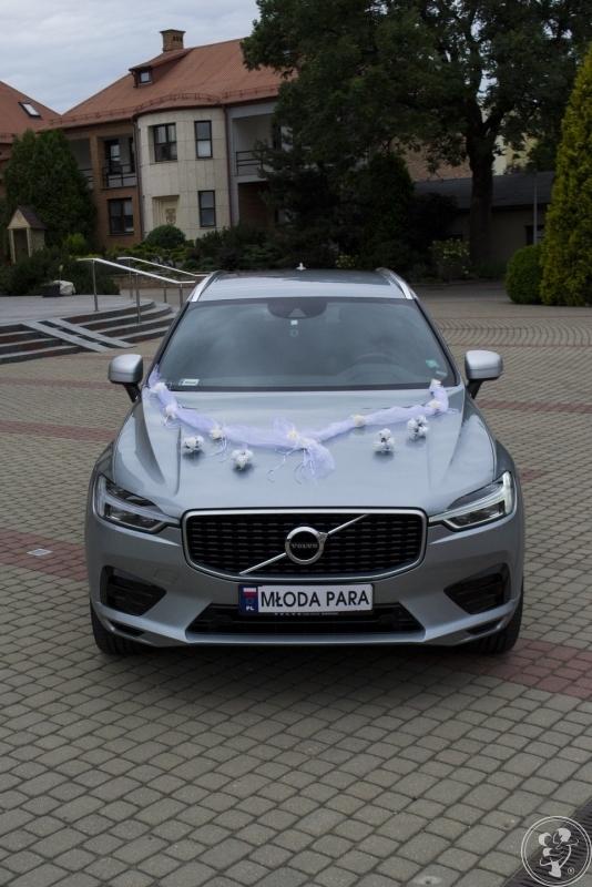 Volvo XC60 R design do ślubu srebrny, Warszawa - zdjęcie 1