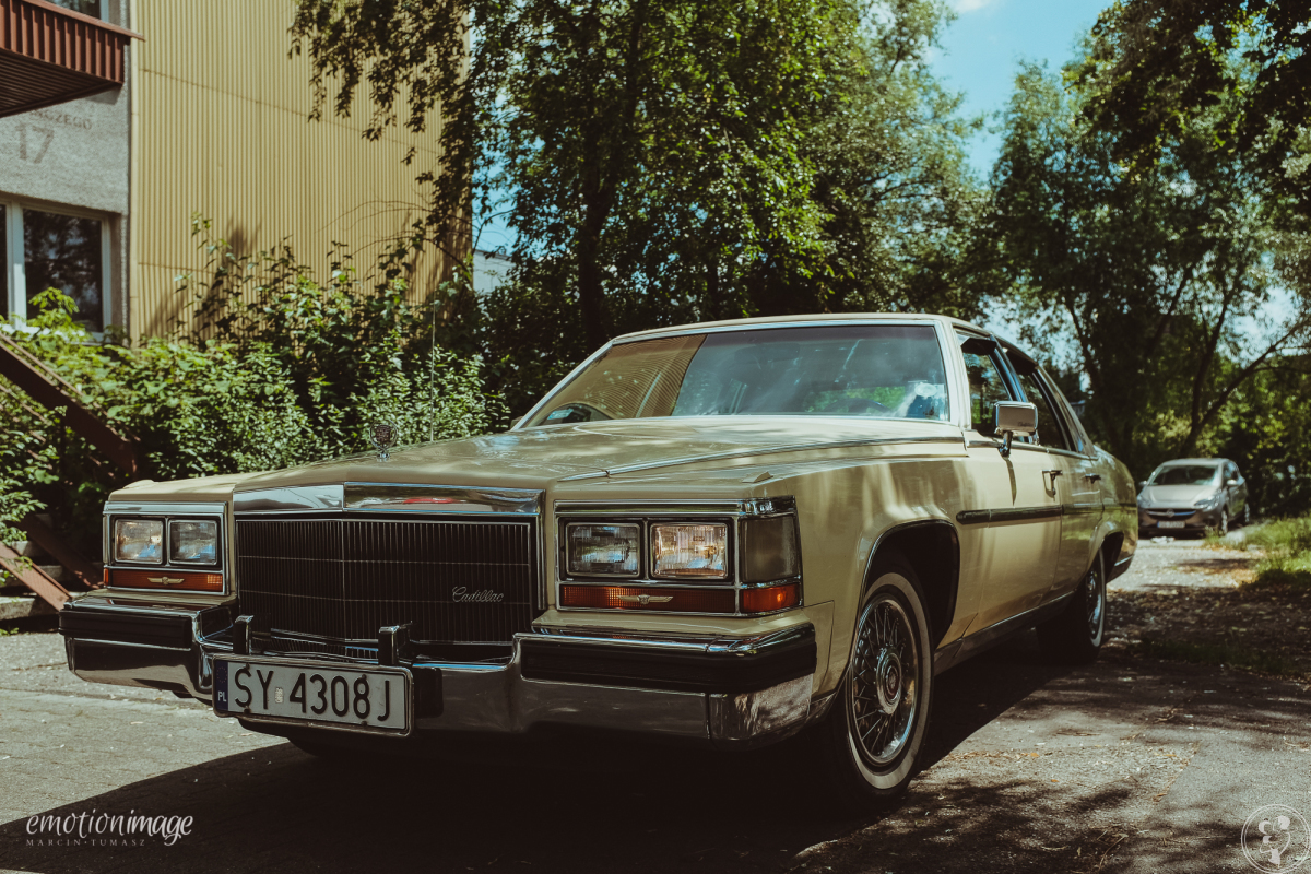 Cadillac Fleetwood - wyjątkowe auto do ślubu, Bytom - zdjęcie 1