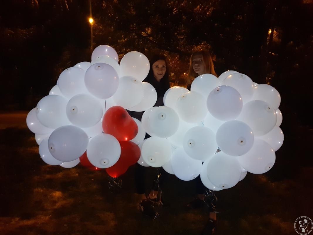 Mega Prezent Pudło balonów, Balony LED, balony na sale & fotobudka., Rybnik - zdjęcie 1