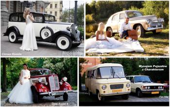 Zabytkowe Auta na Ślub z Charakterem, Samochód, auto do ślubu, limuzyna Pabianice