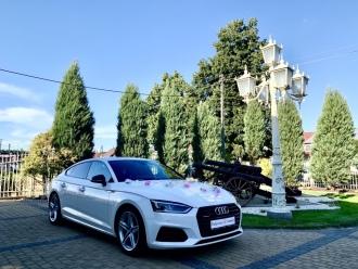 Auto do Ślubu Samochód do ślubu Auto AUDI A5 Samochód Limuzyna na ślub,  Warszawa