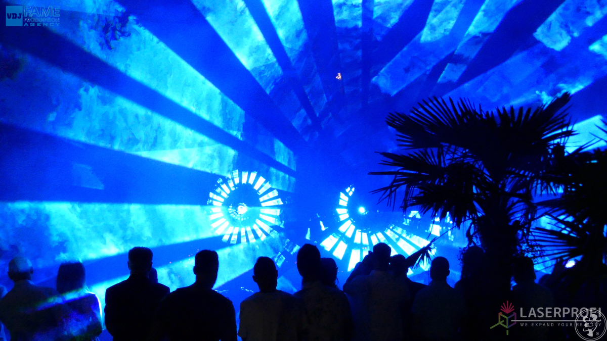 Pokazy laserowe, pokaz laserów na weselu szyte na miarę - LASERPROFI, Szczecin - zdjęcie 1