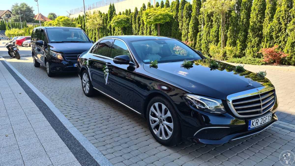 Komfortowe vany dla gości/Mercedes klasy E do ślubu, Warszawa - zdjęcie 1