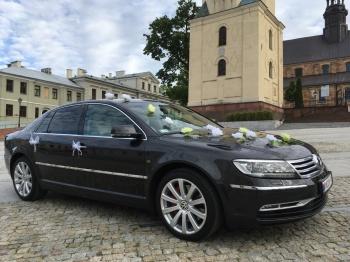 VW Phaeton do ślubu, Samochód, auto do ślubu, limuzyna Kielce