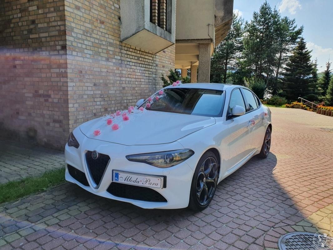 Auto samochód do ślubu Alfa Romeo Giulia z kierowcą, Bielsko-Biała - zdjęcie 1