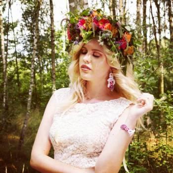 Ewa Wronka Leśna Pracownia Biżuterii, Obrączki ślubne, biżuteria Złoczew