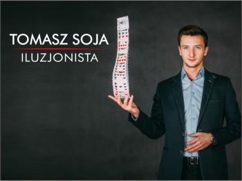 Iluzjonista Tomasz Soja - Pokaz iluzji z klasą. Oczaruje Waszych Gości, Iluzjonista Oświęcim