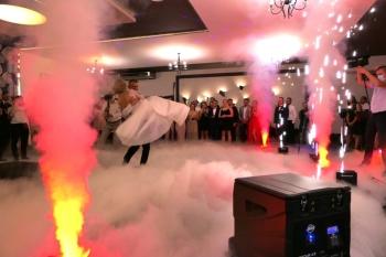 Ciężki dym, Foto-Mozaika, iskry, konfetti, bańki, personalizacja, Ciężki dym Skarżysko-Kamienna