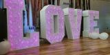 Ażurowy napis LOVE/Dekoracja ślubna/Podświetlana atrakcją weselna, Dziwnów - zdjęcie 3