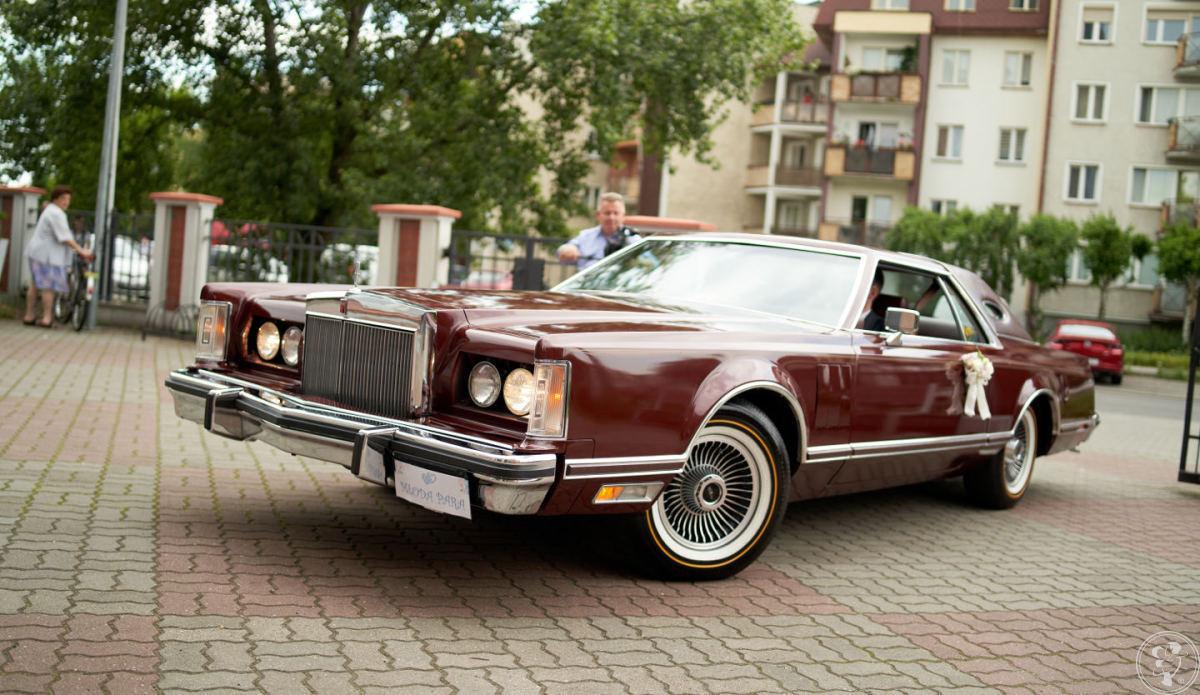 Lincoln Continental 1977 do ślubu, Toruń - zdjęcie 1