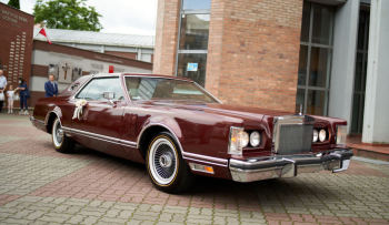Lincoln Continental 1977 do ślubu, Samochód, auto do ślubu, limuzyna Aleksandrów Kujawski