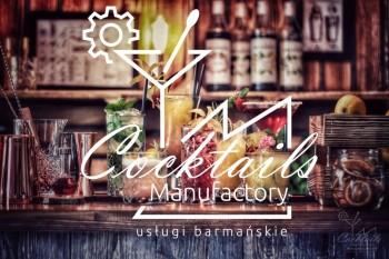 Cocktails Manufactory - Usługi Barmańskie - Mobilny Drink Bar, Barman na wesele Paczków