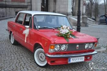 DUŻY FIAT 125p, Samochód, auto do ślubu, limuzyna Głuchołazy