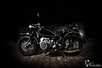 Piękny motocykl do ślubu!, Bryczka do ślubu Mikstat