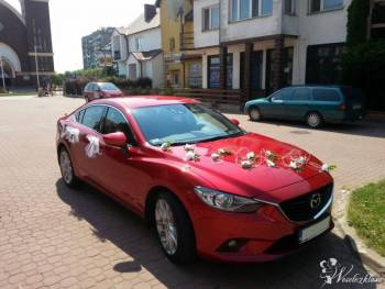 Nowa Mazda 6 -sky passion, Samochód, auto do ślubu, limuzyna Wasilków