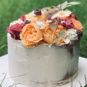 Etnika Event Foods & Cakes / Słodki Kącik / Słodki Stół, Tort weselny Wadowice