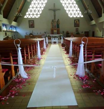 black&white; wedding dekoracje,florystyka..koordynacja ślubu i wesela, Dekoracje ślubne Bolesławiec