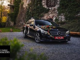 Czarny Mercedes - Luksusowe i nowoczesne auto do ślubu. WOLNE TERMINY!,  Wrocław