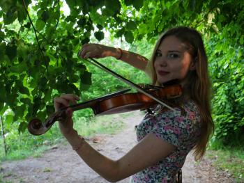 Karolina Wesołowska - oprawa muzyczna skrzypce i wokal (+ gitara), Oprawa muzyczna ślubu Lębork