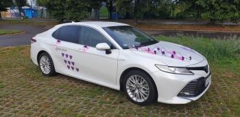 Auto do Ślubu -Toyota Camry nie  Lexus, Audi, Mercedes, BMW, Samochód, auto do ślubu, limuzyna Katowice