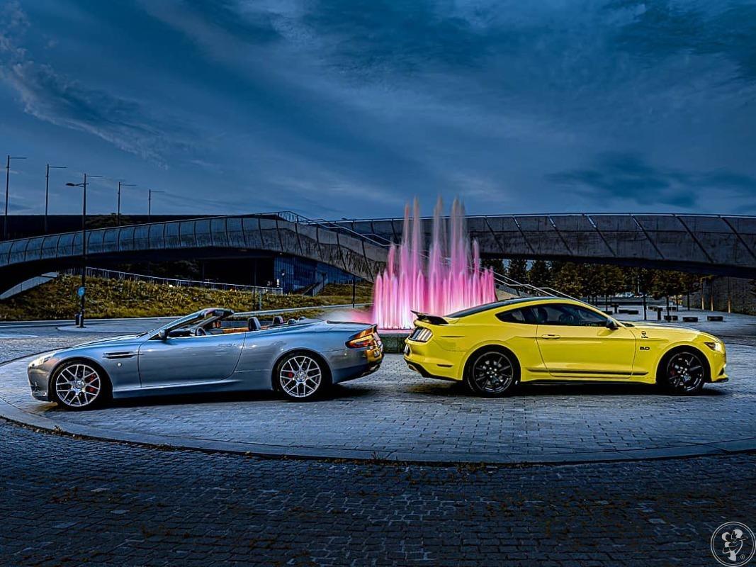 Aston Martin DB9, Bentley Flying Spur, BMW M4 Cabrio, Maserati Ghibli, Katowice - zdjęcie 1