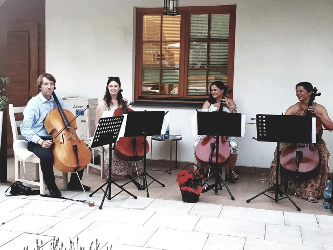 Kwartet wiolonczelowy na ślub i Twoje imprezy okolicznościowe., Lublin - zdjęcie 1