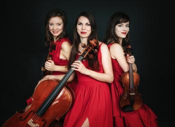 Oprawa muzyczna ślubu - trio smyczkowe (skrzypce+skrzypce+wiolonczela), Oprawa muzyczna ślubu Góra Kalwaria
