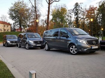 Transport gości weselnych Mercedes-Benz Vito, Wynajem busów Starogard Gdański