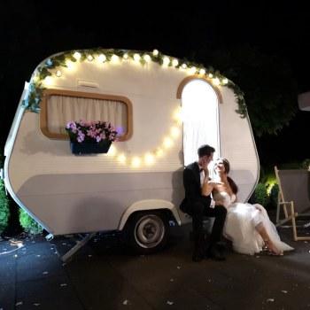 🖤Fotoprzyczepa Fotobus FotoSztos, Napis LOVE, Pudło z balonami 🖤, Fotobudka, videobudka na wesele Węgorzyno