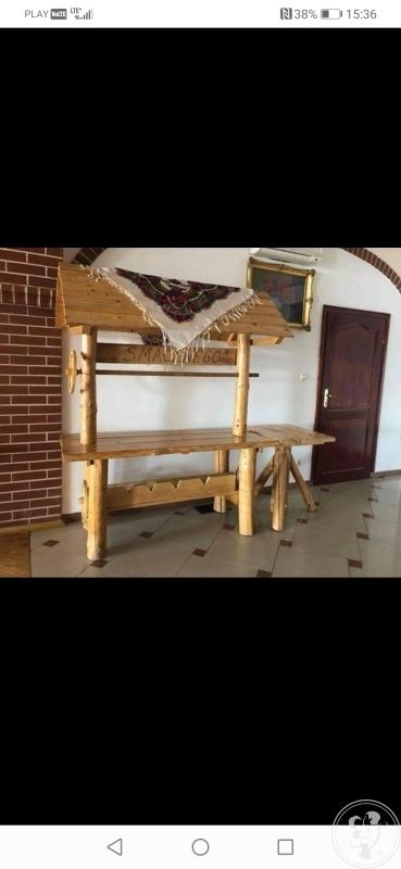 Stół wiejski, Dobczyce - zdjęcie 1