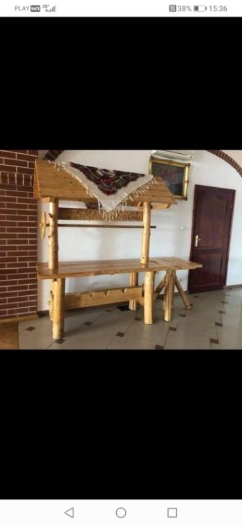Stół wiejski, Artykuły ślubne Olkusz