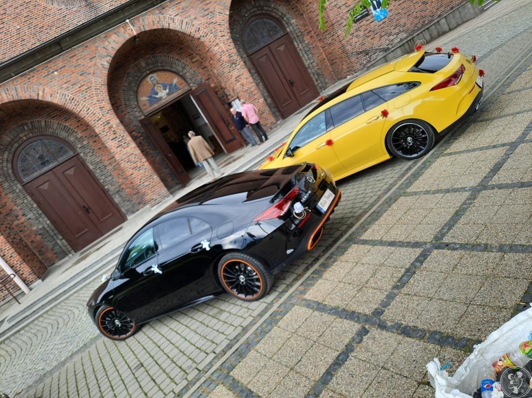 2 Mercedesy CLA 4Matic Black & Yellow., Gdańsk - zdjęcie 1